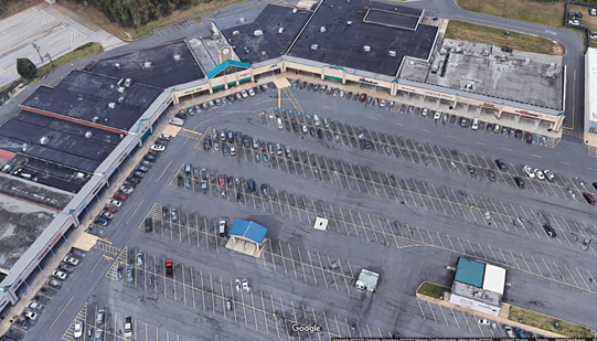 Retail strip mall for Maryland real estate investor